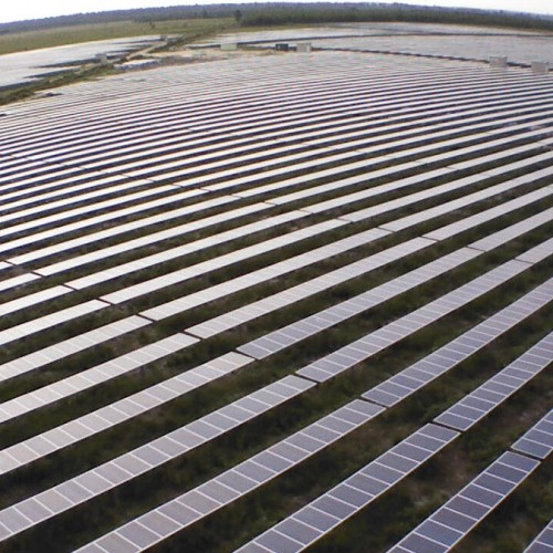 12MW solar power plant Garein