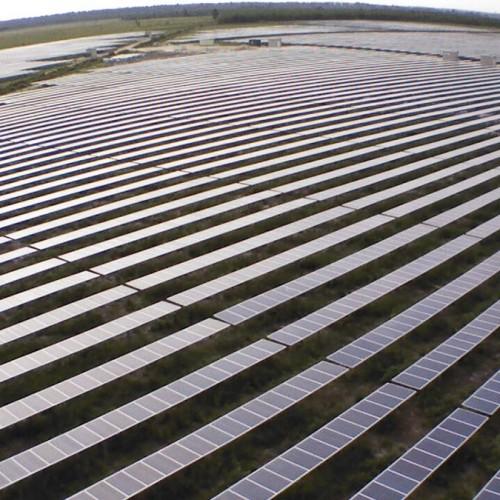 12MW solar power plant Garein