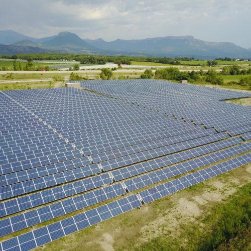 Solar trackers Upaix